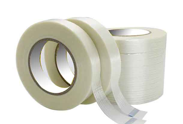 七卷相同规格的玻纤布纤维胶带