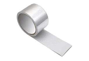 展开的铝箔胶带