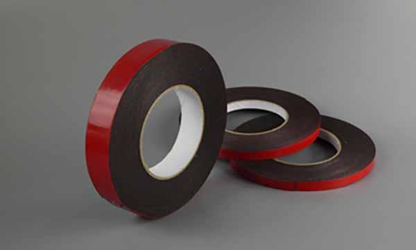 3卷红皮黑棉泡棉胶带