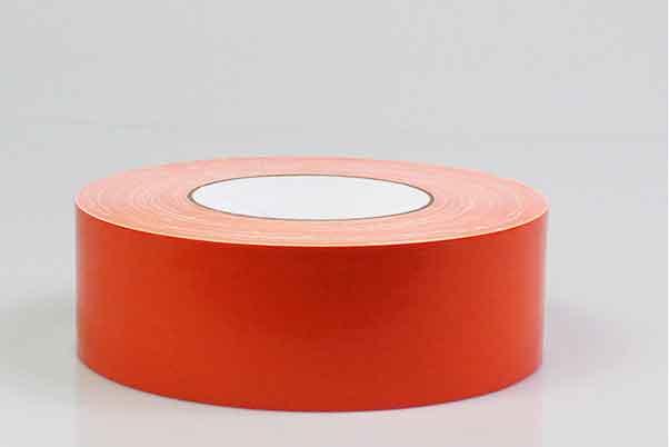 彩色布基胶带橙色地毯胶带
