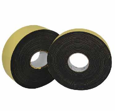 两卷厚度大小相同的EVA泡棉胶带
