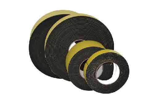 4卷不规格厚度不同的EVA双面泡棉胶带