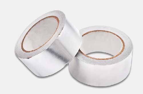 铝箔胶带一卷压在另一卷上