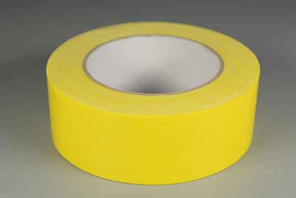 柠檬黄色布基胶带