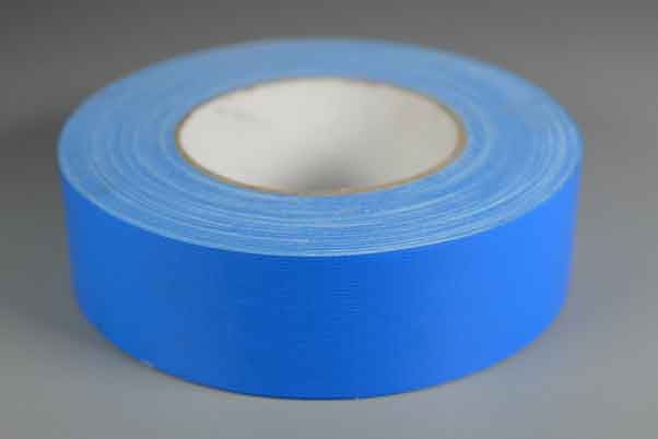 浅蓝色布基胶带