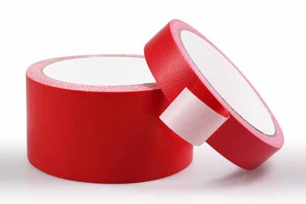 红色的布基胶带