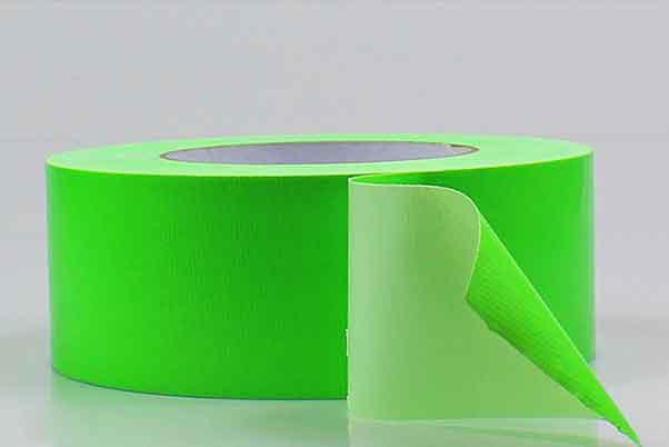 荧光绿色布基胶带