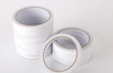整齐的绵纸胶带